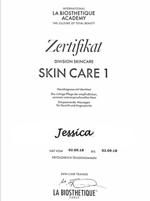 La Biosthetique - Skin Care I | Jessica September 2018